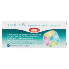 Coop-multi-B complesso vitaminico gruppo B 24 x 0.41 g