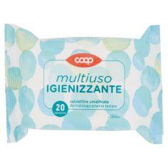 Coop-multiuso Igienizzante salviettine umidificate 20 pz