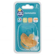 Neo Baby Gommotto Caucciù Tettina Piatta 0m+ 1 pz