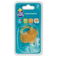 Neo Baby Gommotto Maxi Tettina Piatta Caucciù 1 pz 12m+