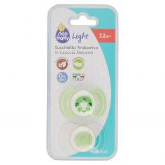 neo Baby Light Succhietto Anatomico in Caucciù Naturale 12m+ 2 pz