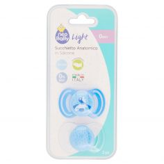 neo Baby Light Succhietto Anatomico in Silicone 0m+ 2 pz