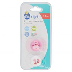 neo Baby Light Succhietto Anatomico in Silicone 12m+ 2 pz