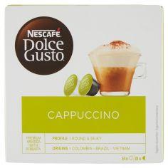 DOLCE GUSTO-NESCAFÉ DOLCE GUSTO CAPPUCCINO Cappuccino 16 capsule (8 tazze)