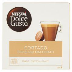DOLCE GUSTO-NESCAFÉ DOLCE GUSTO CORTADO ESPRESSO MACCHIATO caffè macchiato 16 capsule (16 tazze)
