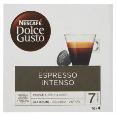 DOLCE GUSTO-NESCAFÉ DOLCE GUSTO ESPRESSO INTENSO caffè espresso 16 capsule (16 tazze)