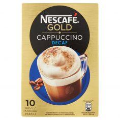 NESCAFE'-NESCAFÉ GOLD CAPPUCCINO DECAF preparato solubile per cappuccino decaf astuccio 10 bustine 125g