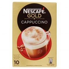 NESCAFE'-NESCAFÉ GOLD CAPPUCCINO preparato solubile per cappuccino astuccio 10 bustine 140g
