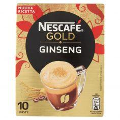 NESCAFE'-NESCAFÉ GOLD GINSENG preparato solubile per caffè al ginseng astuccio 10 bustine 70g