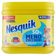 NESQUIK-NESQUIK 30% MENO ZUCCHERI cacao solubile per latte barattolo 350g