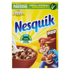 NESQUIK-NESQUIK DUO Palline di cereali al cioccolato e palline ricoperte di cioccolato bianco 325g