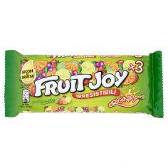 FRUIT JOY-NESTLÉ FRUIT JOY ORIGINAL Caramelle gommose ai gusti di frutta 3 tubi da 52,5g