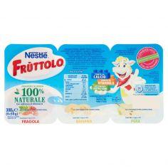 FRUTTOLO-NESTLÉ FRUTTOLO Fragola, Banana, Pera 6 x 50 g