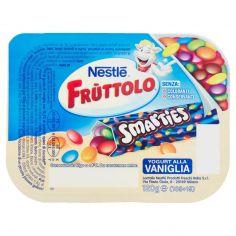 FRUTTOLO-NESTLÉ FRUTTOLO Smarties Yogurt alla Vaniglia 120 g