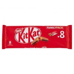 .FAMILY-NESTLÉ KITKAT FAMILY PACK Wafer ricoperto di cioccolato al latte 8 snack da 20,7g