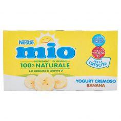 NESTLE'-NESTLÉ MIO Yogurt Cremoso Banana 2 x 125 g
