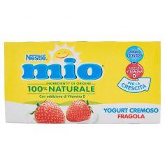 NESTLE'-NESTLÉ MIO Yogurt Cremoso Fragola 2 x 125 g
