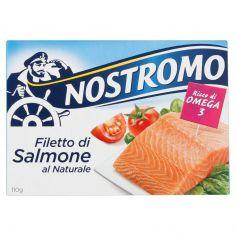 NOSTROMO-Nostromo Filetto di salmone al naturale 110g