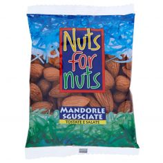 NUTS FOR NUTS-Nuts for Nuts Mandorle Sgusciate Tostate e Salate 100 g