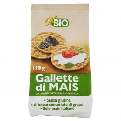 Ok Bio Gallette di Mais 130 g