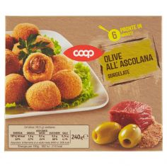 Coop-Olive all'Ascolana Surgelate 240 g