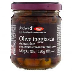 Coop-Olive taggiasca denocciolate in Olio Extravergine di Oliva (33%) 180 g