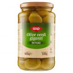 Coop-Olive verdi giganti Intere 560 g