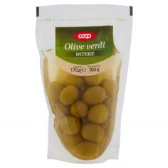 Coop-Olive verdi Intere 170 g
