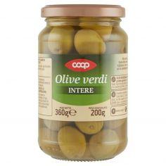 Coop-Olive verdi Intere 360 g