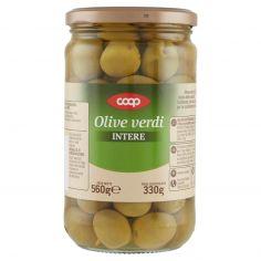 Coop-Olive verdi Intere 560 g