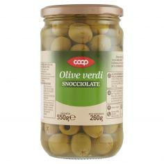 Coop-Olive verdi Snocciolate 550 g