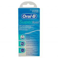 ORAL B-Oral-B Filo Interdentale Super Floss - 50 fili pre-tagliati