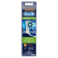 ORAL B-Oral-B Power Refill Spazzolino Elettrico EB 50-2 Cross Action - 2 Refill