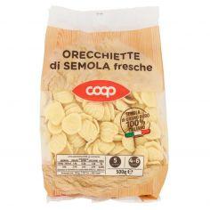 Coop-Orecchiette di Semola fresche 500 g