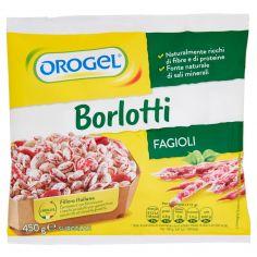 OROGEL-Orogel Borlotti Fagioli Surgelati 450 g