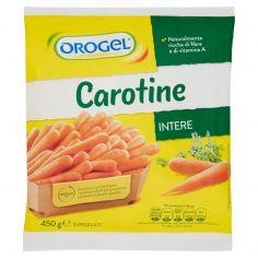 OROGEL-Orogel Carotine Intere Surgelati 450 g