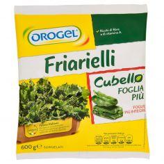 OROGEL-Orogel Cubello Friarielli Foglia Più Surgelati 600 g