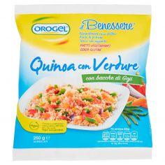 IL BENESSERE-Orogel il Benessere Quinoa con Verdure Surgelati 250 g