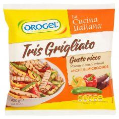 OROGEL-Orogel La Cucina Italiana Tris Grigliato Gusto ricco Surgelati 400 g