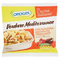 OROGEL-Orogel La Cucina Italiana Verdure Mediterranee Surgelati 400 g