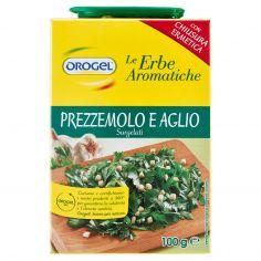 OROGEL-Orogel Le Erbe Aromatiche Prezzemolo e Aglio Surgelati 100 g