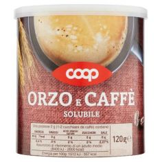 Coop-Orzo e Caffè Solubile 120 g