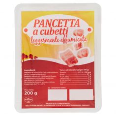 TULIP-Pancetta a cubetti leggermente affumicata 200 g