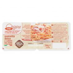 Coop-pancetta dolce a cubetti da Suini Italiani 2 x 100 g