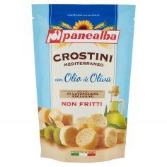 PANEALBA-panealba Crostini Mediterraneo con Olio di Oliva 100 g
