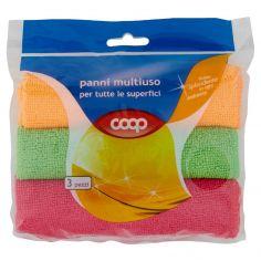 Coop-Panni Microfibra Multiuso x3