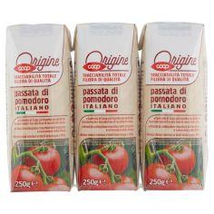 Coop-passata di pomodoro Italiano 3 x 250 g