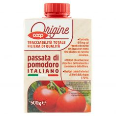 Coop-passata di pomodoro Italiano 500 g