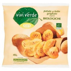 Coop-patate a fette grigliate surgelate Biologiche 450 g