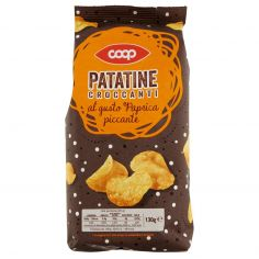 Coop-Patatine Croccanti al gusto Paprica piccante 130 g